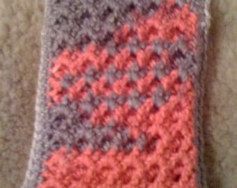 Crochet smart phone sleeve