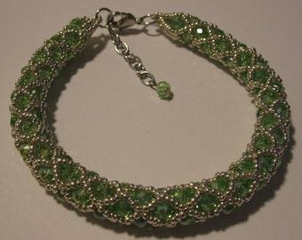 Handmade Beaded Bangle/Bracelet