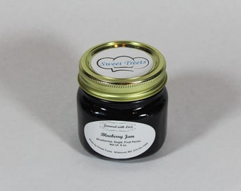Blueberry or Strawberry Rhubarb Jam