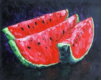 Watermelon. 3 slices