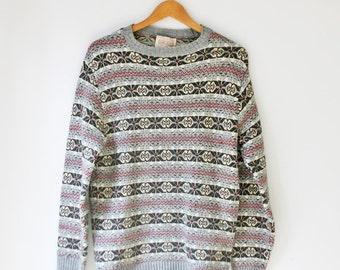 Vintage Lord Jeff Men's Medium Sweater - Made in USA