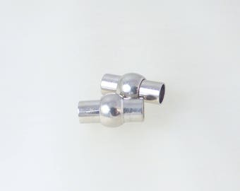 2 for cord 5/6 MM magnetic clasps