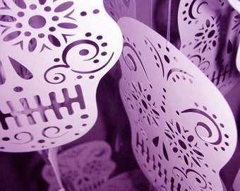 Day of the dead skull - SVG cutting file for cutting machine.