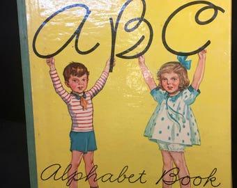 1939 Childrens A B C Alphabet Book