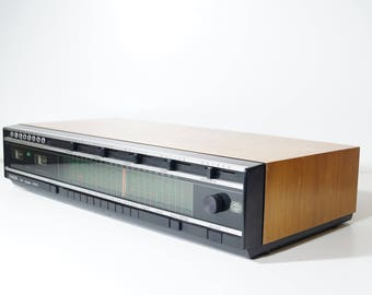 HiFi stereo amplifier with radio tuner and AUX, W. Germany 1970s, vintage Saba Studio 8100 K, retro amplifier, high end, 4 x 50w, Gift