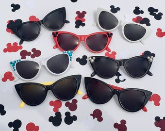 "Cat Eye ""Hidden Mickey"" Sunglasses - Customizable"