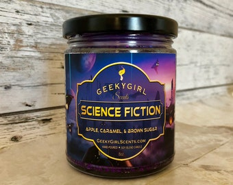 Science Fiction | All Things Sci-Fi Inspired | Apple, Caramel, & Brown Sugar