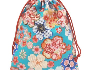 From Japan Pouch Japanese Pattern Flower