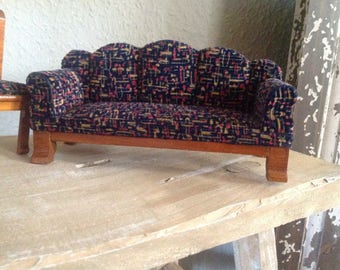 Antique sofa and 2 chairs for the Dollhouse/Doll House or collector