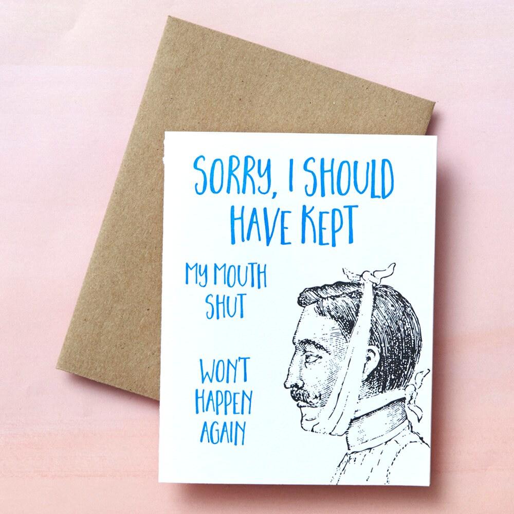 9421 sorry sorry card oopsie my bad im sorry zoom kristyandbryce Gallery