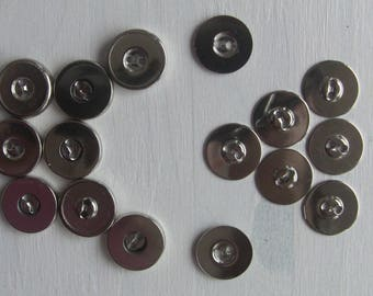 12 magnetic buttons to sew 19mm magnetic snaps free sewing