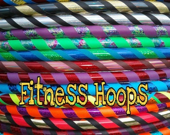 Beginner Custom Hula Hoop designed for you FITNESS weight core hooping body hoop