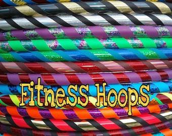 Beginner Custom Hula Hoop designed for you FITNESS weight core hooping body hoop