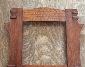 Mission / Craftsman Tile Frame