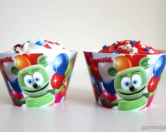 Gummibär (The Gummy Bear) Cupcake Wrappers ~ Download ~ Printable ~ Party Decorations