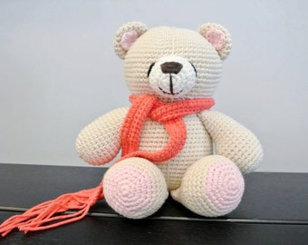 Forever Friends Crochet Bear Amigurumi - Handmade Crochet Amigurumi Toy Doll - Bear Crochet - Amigurumi Bear