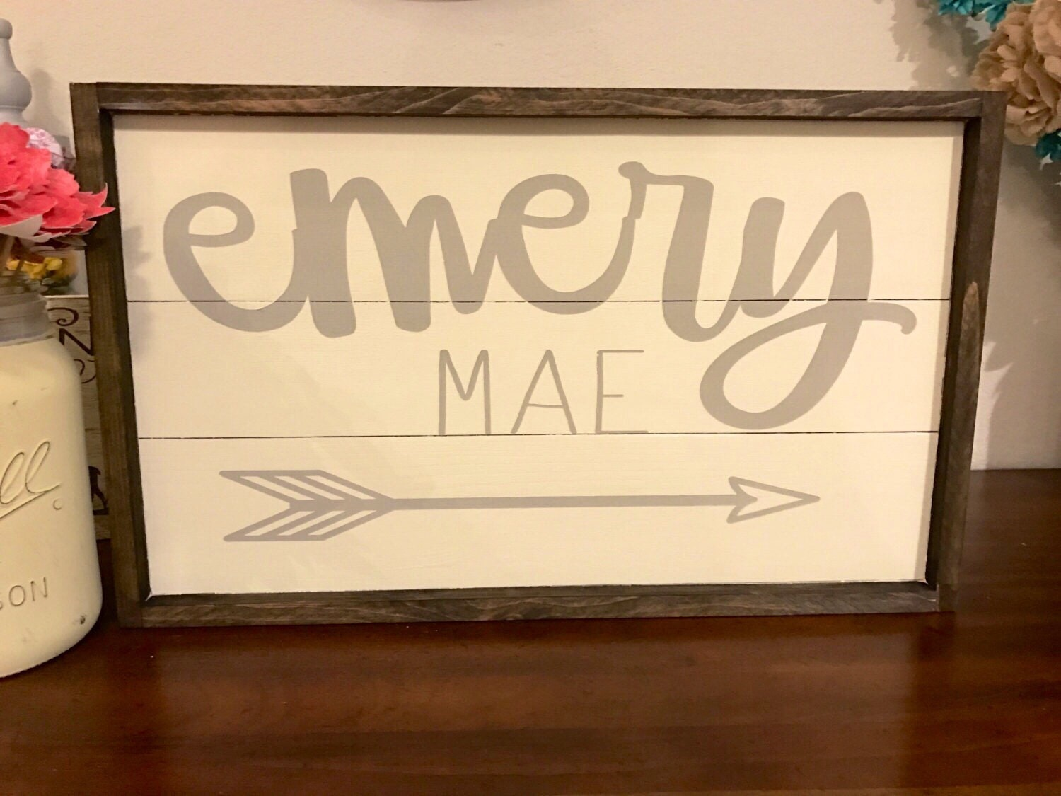 Personalized,Personalized Gift,Anniversary Gift,Custom Wood Sign ...