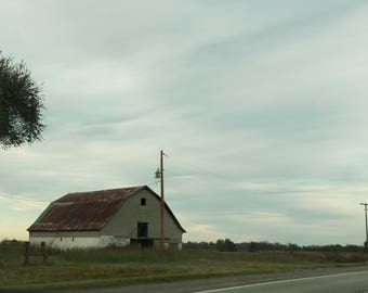 5 x 7, 8 x 8, 8 x 10, 10 x 10,  11 x 14, 16 x 20 Farm House Digital Photo Print