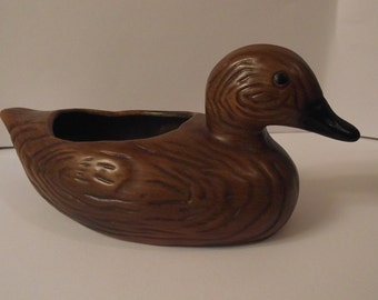 Ceramic Duck Planter
