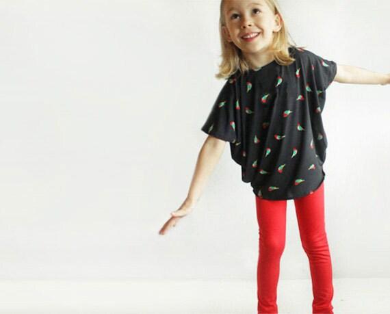 Reversible Simple TUNIC pattern - girls shirt pdf pattern - easy ...