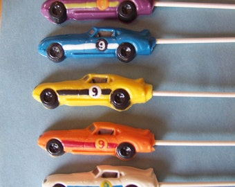 10 Pc. Zoom Zoom Racecars