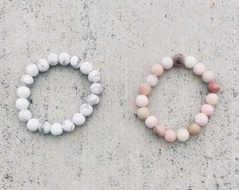 Mini Mala Bracelet - Beaded Bracelet - Gemstone Bracelet - Mala Beads - Gemstone Intention Bracelet - Kids Meditation - Kids Yoga