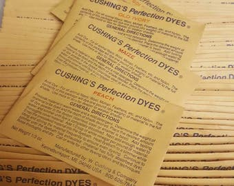 Cushing Perfection Acid Dyes,colors that begin with A thru N,  for wool, mohair and other animal fibers