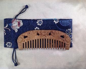 A0027L- Wooden Comb