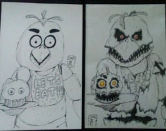 Chica and Nightmare Chica