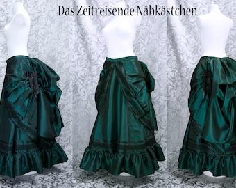 Victorianische Röcke im Set (4-6 Teile), Tournürenröcke, Tournüre, Steampunk, Gothic - Maßanfertigung, alle Farben machbar!