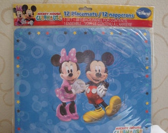 Mickey Mouse club House placemats set of 12