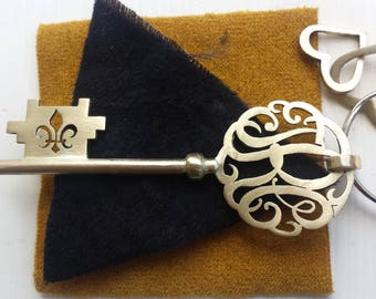 Christmas gift/fleur de lys/holiday gift/gift for her/gift for him