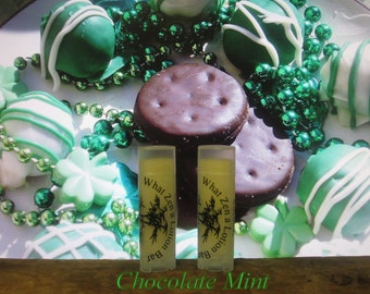 Chocolate Mint Truffle Lip Balm - 31 Luscious Flavors - 100% Natural