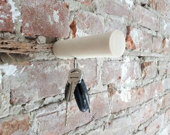 Wood peg hook, peg hook wall art, wall, wood peg modern