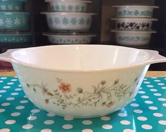 Vintage Pyrex JAJ England Emily Casserole Dish