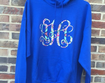 Monogrammed hoodie