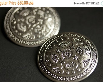 MOTHERS DAY SALE Two (2) Viking Brooches. Silver Apron Pins. Silver Shield Norse Shoulder Brooches. Renaissance Faire Jewelry. Historical Re