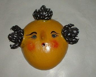 Vintage Unusual Mask Handmade