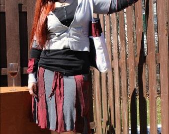 Custom Dragon Fairy skirt-short
