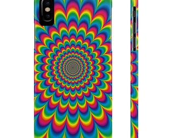 IPhone Slim Case | Psychedelic Design, iphone cases, iphone 6 cases, phone cases, iphone 5 cases, iphone 7 cases, iphone accessories