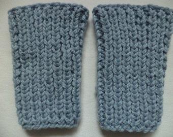 Knitted warmers Wadenwärmer Merino Wool baby leg warmers