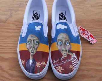 The Rascals Have Returned Custom Painted Shoes