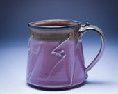 Handmade Pottery Mug Lave...