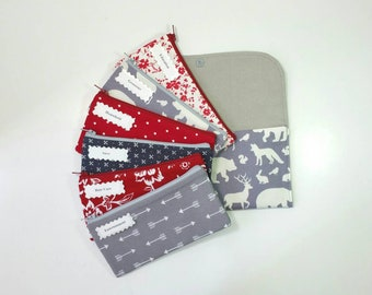 Cash Budget System, Cash Envelope Wallet -In The Woods Animals- (It can be used with the Dave Ramsey system) READY TO SHIP