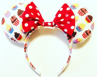 Mickey and Friends Cupcake Mouse Ears
