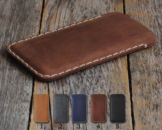 Nokia 1 7 2 8 6 5 3 Siricco Plus (2018) Case Pouch. Handmade Cover Genuine Real Cow Leather Shell Sleeve Rough Vintage Style Custom Sizes