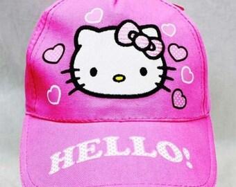 Hello Kitty Baseball Cap Girls  Baby Toddler Child's