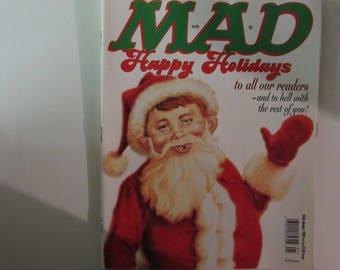 Mad Magazine January 1998 Santa