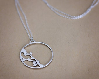 Berry Hoop Necklace