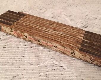 Brick masons ruler